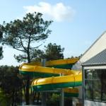 Toboggan de la piscine de Baden