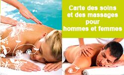 Voir la brochure du spa et des soins